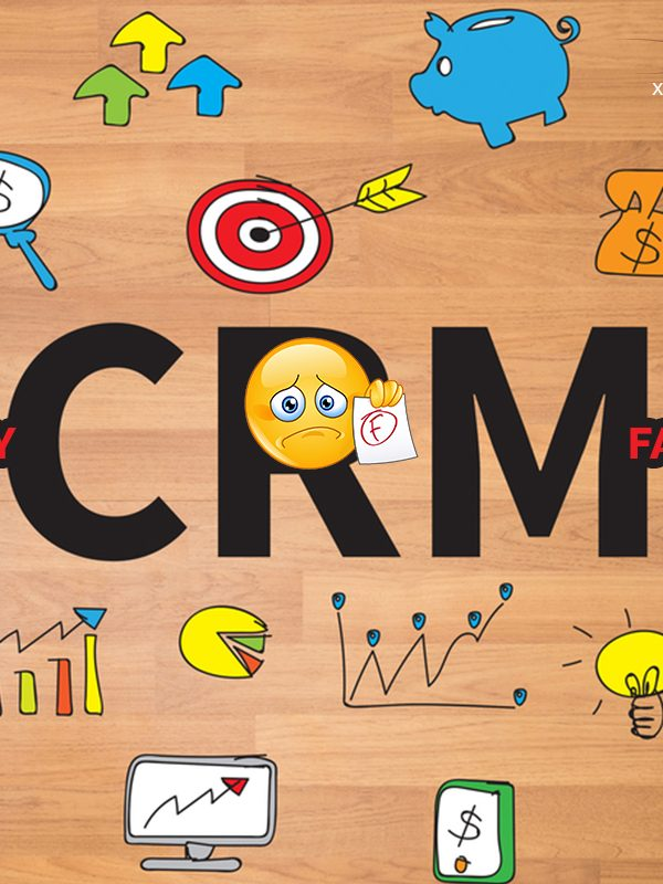 More than half of all CRM implementations fail. Find out why here.