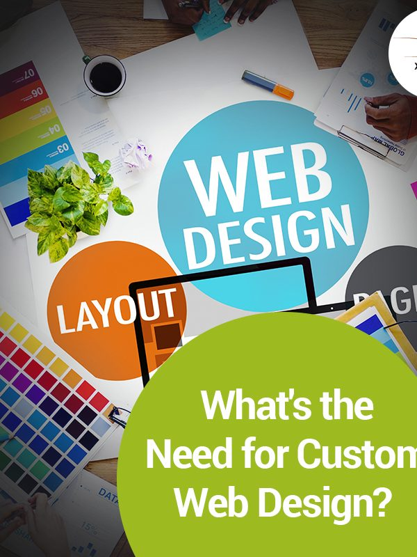 What is the need for custom website design