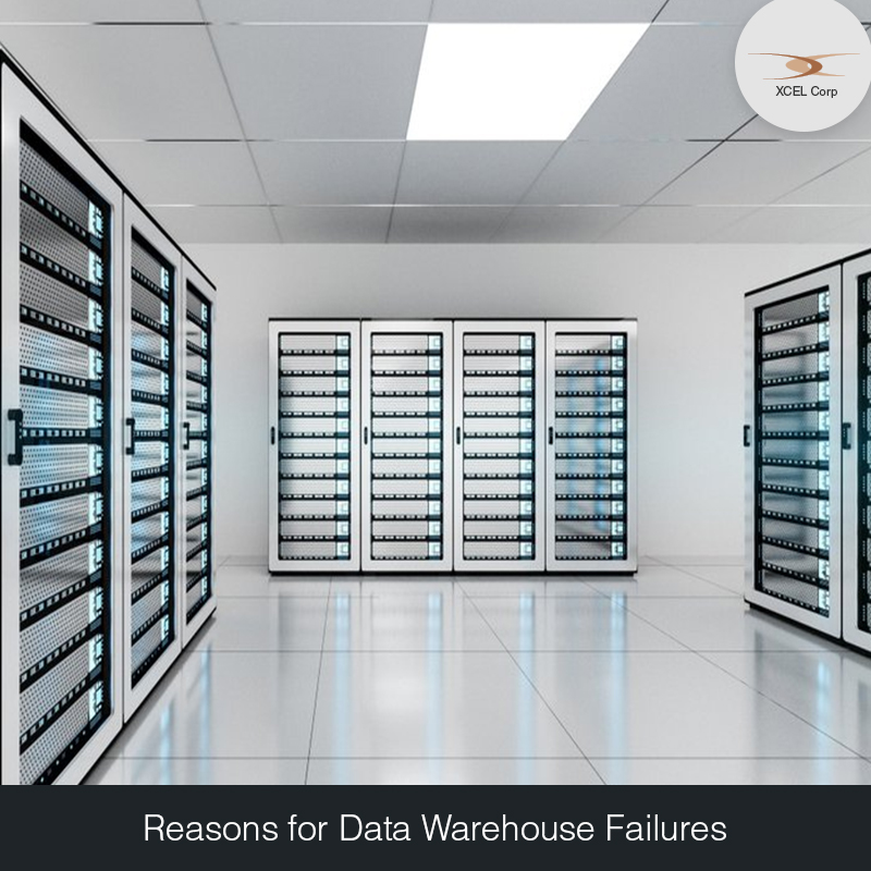 Data Warehouse Fails, Jit Goel, XCEL Corp Jit Goel