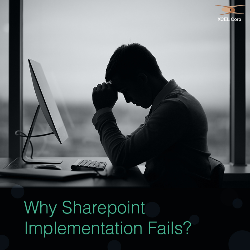 What makes sharepoint implementations fail?, Jit Goel, XCEL Corp Jit Goel